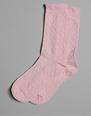 Bank Pointelle Socks