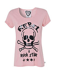 Glass Heart Rebel Rockstar T-Shirt