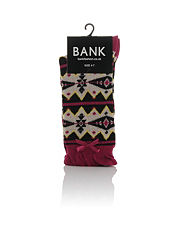 Bank Aztec Socks