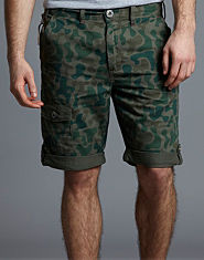Fenchurch Coum Camo Shorts