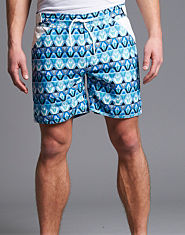Fenchurch Patterned Swimming Shorts