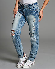 BLONDE & BLONDE Heritage Acid Wash Jeans