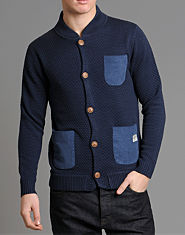 Jack & Jones Sponge Knit Cardigan