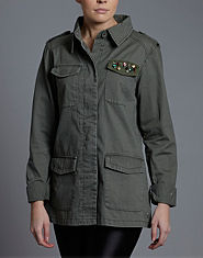BLONDE & BLONDE Heritage Jewel Army Jacket