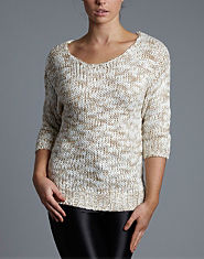 BLONDE & BLONDE Slub Jumper