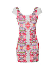 PAPRIKA Mirrored Floral Dress