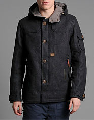 Duck and Cover Parry Melton Jacket
