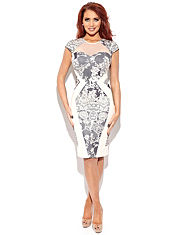 Amy Childs Kitty Lace Bodycon Dress