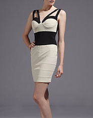 Rare Bralet Bodycon Dress