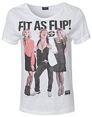 Outcast Fit As Flip T-Shirt