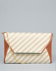 Bank Rafia Clutch Bag