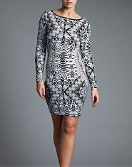 Lipsy Tribal Print Dress