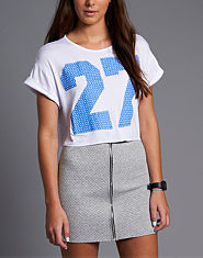 BLONDE & BLONDE 27 Cropped T-Shirt