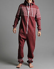 Outcast Hunter Aztec Print Onesie