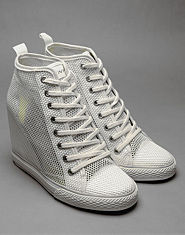 DKNY Wedge Hi Top Trainers