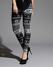 Red or Dead Vesper Aztec Leggings