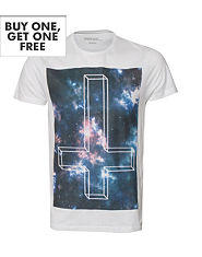 Outcast Space Cross T-Shirt