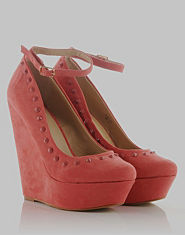 Kitsch Couture Shasnay Stud Wedges