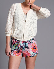 ONLY Berlin Lace Bomber Jacket