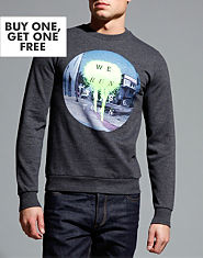 Outcast We Run This Town Sweatshirt