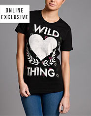 Goodie Two Sleeves Wild Thing T-Shirt