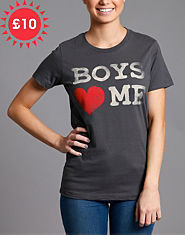 Goodie Two Sleeves Boys Heart Me T-Shirt