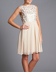 Little Mistress Sequin Skater Dress