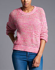 Superdry Crosshatch Crew Neck Jumper