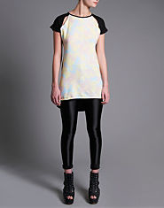 Tulisa TFB Tie Dye T-Shirt Dress