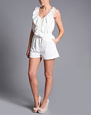 Tulisa TFB Zip Up Playsuit