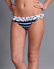 Bank Nautical Stripe Bikini Briefs