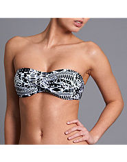 Bank Aztec Twist Bandeau Bikini Top