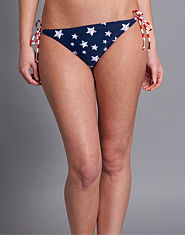 Bank American Flag Bikini Briefs