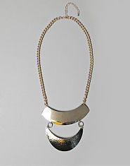 Daisy Rae Hammered Statement Necklace