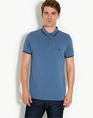 French Connection Marlon Tipped Polo Shirt