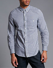 French Connection Ink Checked Shirt