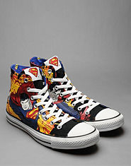 Converse All Star Hi Comic Print