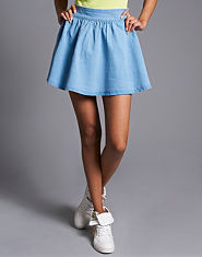 Tulisa TFB Denim Skater Skirt