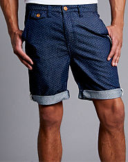 Nanny State Issac Denim Polka Dot Shorts