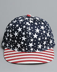Bank Stars Stripes Snapback Cap