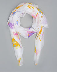 Bank Floral Bird Scarf