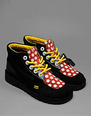 Kickers Lazy Oaf Kick Dotty Boots