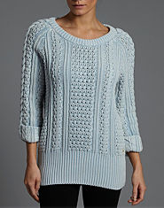 G-STAR Aran Knitted Jumper
