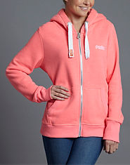 Superdry Orange Label Neon Hoody