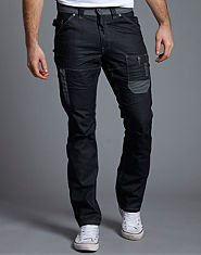 Voi Jeans Revolution Straight Leg Worker Jeans