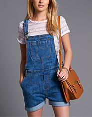 Red or Dead Arcona Denim Dungarees
