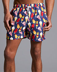 Outcast Ice Cream Swim Shorts