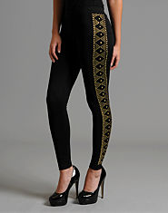 Glamorous Beaded Leggings