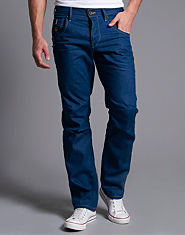 Jack & Jones Boxy Powell Loose Fit Coated Jeans