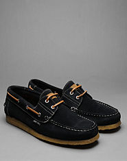 Nanny State Crepe Boat Shoes
